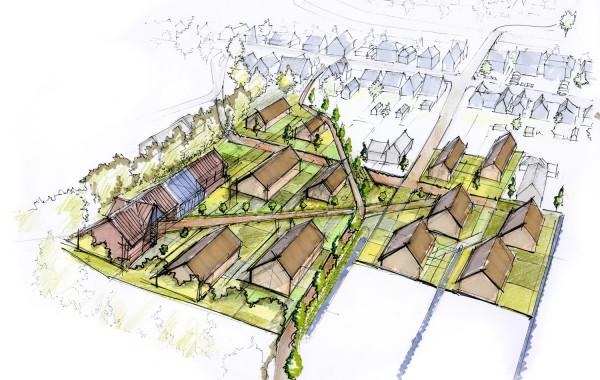 Ontwerp woonwijk Nieuwveen